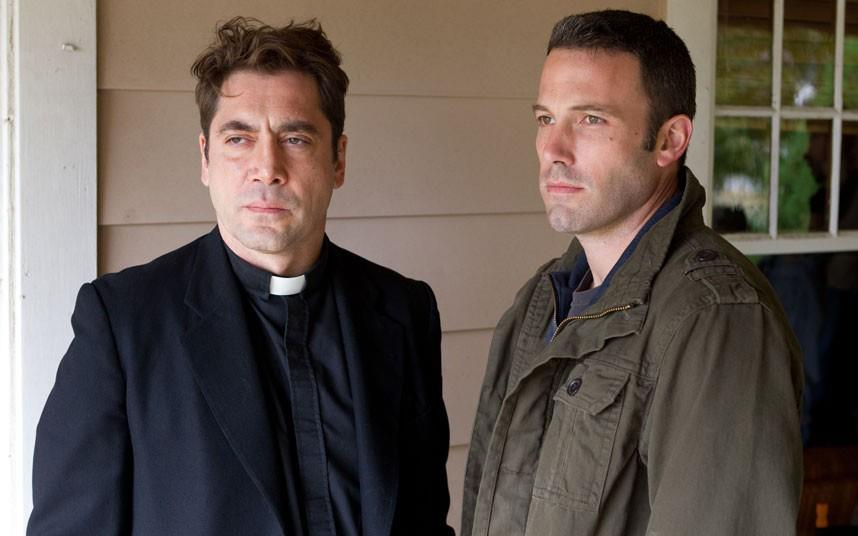 Ben Affleck and Javier Bardem in To The Wonder