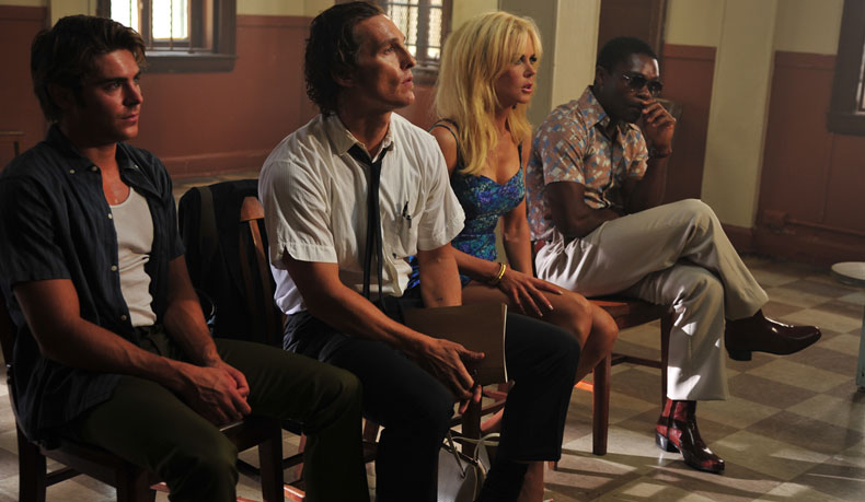 Image of Zac Efron, Matthew McConaughey, Nicole Kidman, David Oyelowo in The Paperboy