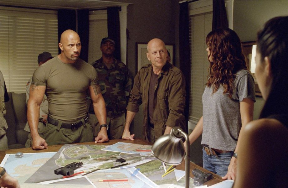 GI Joe: Retaliation scene