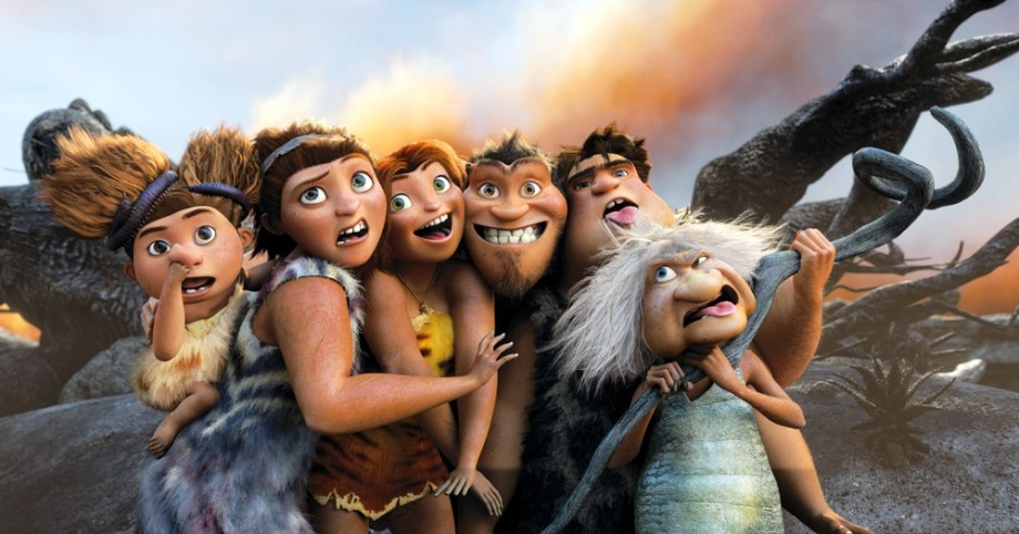 Scene from The Croods